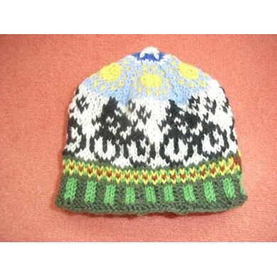 Cycle race kids beanie