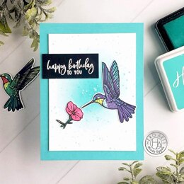 """Hero Arts Color Layering Clear Stamps 4""""X6"""" - Hummingbird"""