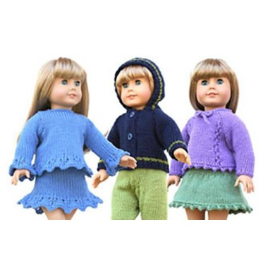 "18"" Doll Sweaters, Collection Three"