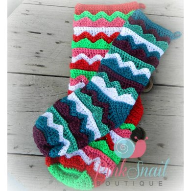 Cupid Christmas Stocking
