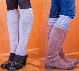 Vanity Fair Legwarmers and Boot Toppers
