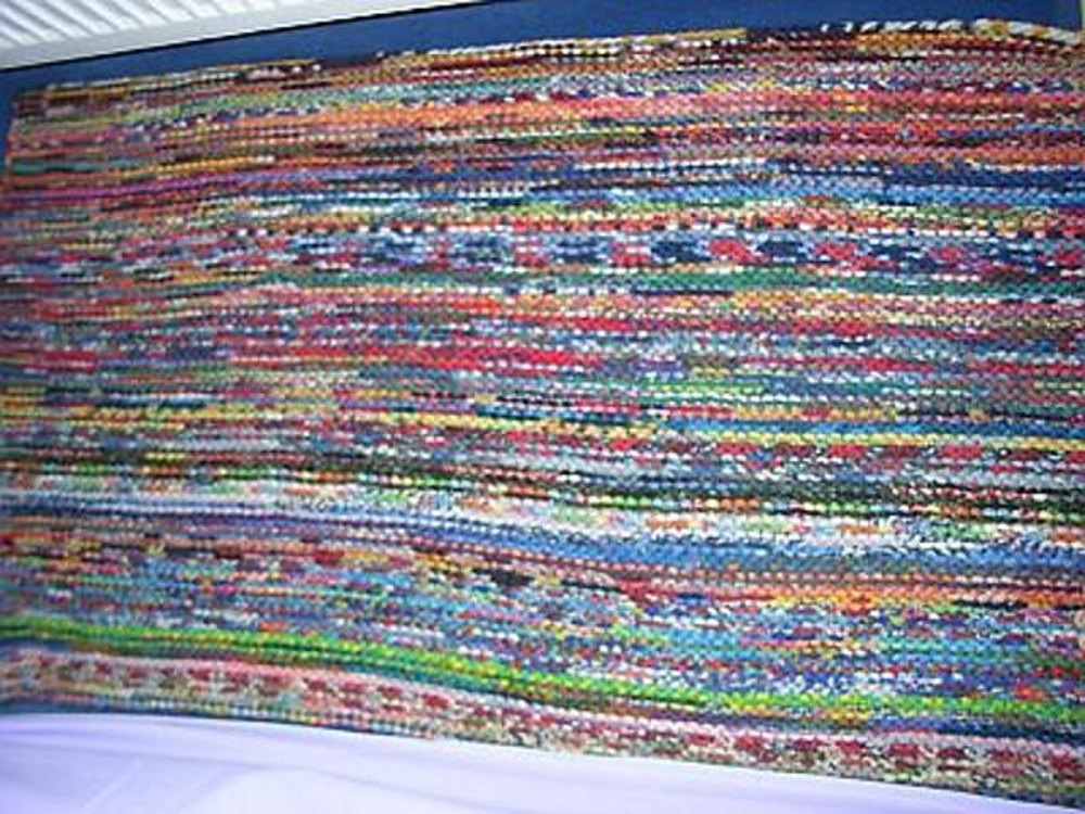 Knitting Patterns For Leftover Wool : Lefty   the sock yarn leftover carpet :) Knitting pattern by Sandra Jager