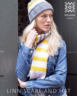 Linn Scarf & Hat in MillaMia Naturally Soft Aran