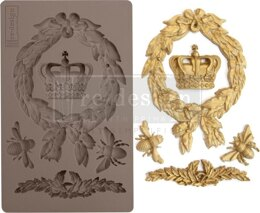 "Prima Marketing Re-Design Mould 5""X8""X8mm - Royalty"