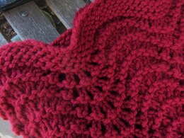 Red Christmas Throw Blanket
