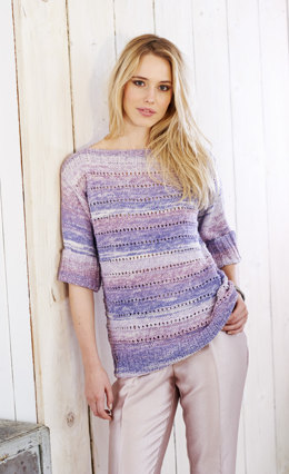 Jumper and Sweater in Stylecraft Sundae DK - 9367