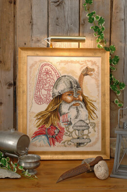 Permin Viking Cross Stitch Kit - 40cm x 50cm