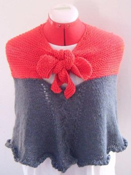 Free Cape Amp Poncho Knitting Patterns Loveknitting