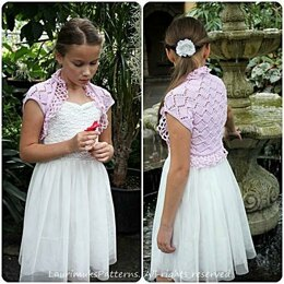 Pink Roses girls shrug