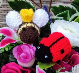 Queen Bee & Ladybird in Waiting - Creme Egg Covers