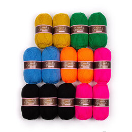 Stylecraft Special DK 14 Ball Colour Pack - Carnaby by Katie Jones