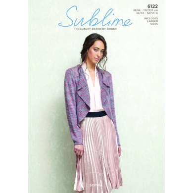 Jacket in Sublime Sophia - 6122 - Downloadable PDF