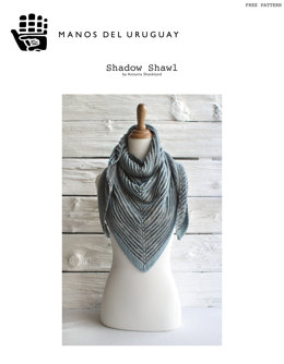 Shadow Shawl in Manos del Uruguay Serena