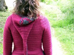 Jehanne hooded cardigan