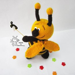 Сheerful bee