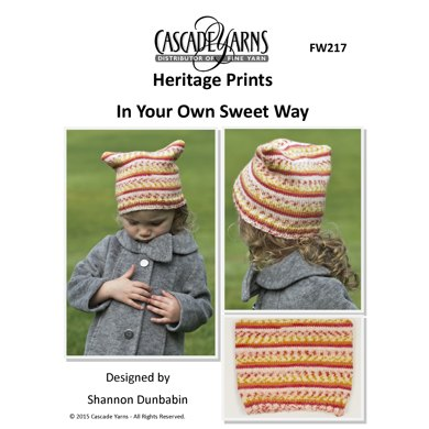 In Your Own Sweet Way In Cascade Yarns Heritage Prints Fw217