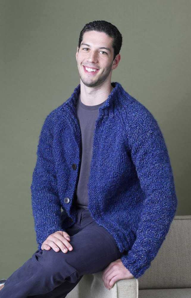 Rowan Knitting Pattern Corrections : Bethel Woods Cardigan in Lion Brand Homespun - 90351AD Knitting Patterns ...