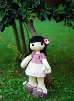 Anny. Doll with big feet and hands