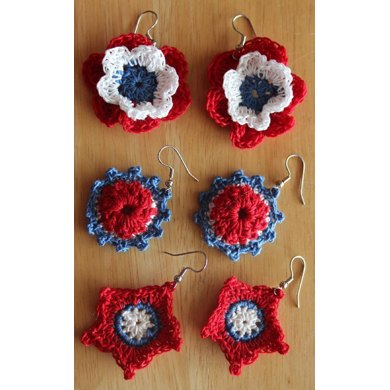 Independence Day Earrings