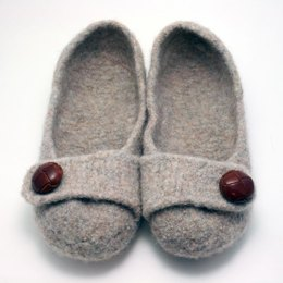French Press Felted Slippers