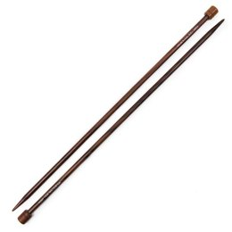 Pony Rosewood Single Pointed Needles 35cm