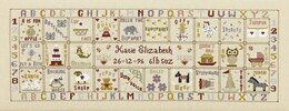 Historical Sampler Company Just For A Girl Cross Stitch Kit