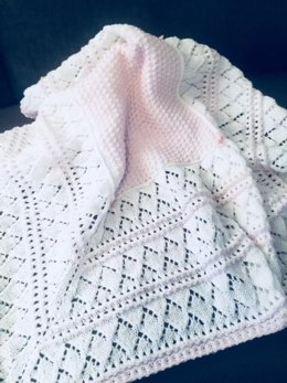 *ALICE* baby shawl