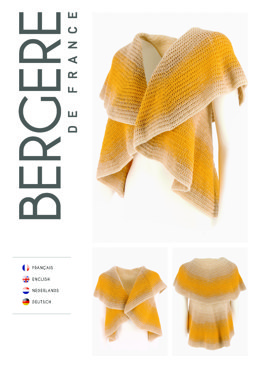 Crochet Bolero in Bergere de France Unic