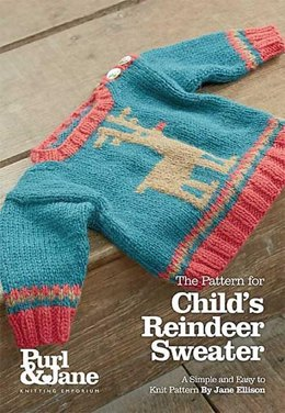 Child's Reindeer Sweater