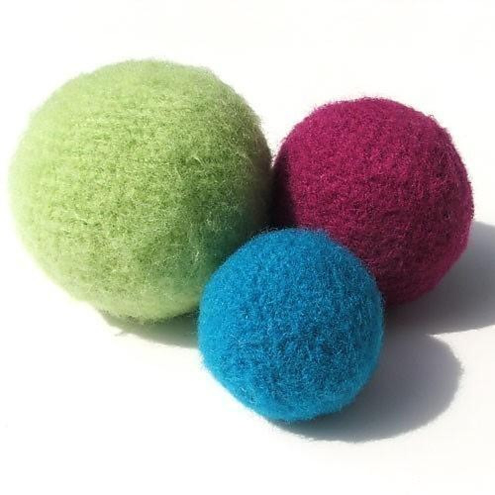 Knitting Patterns For Toy Balls : Felted Toy Balls Knitting Patterns LoveKnitting
