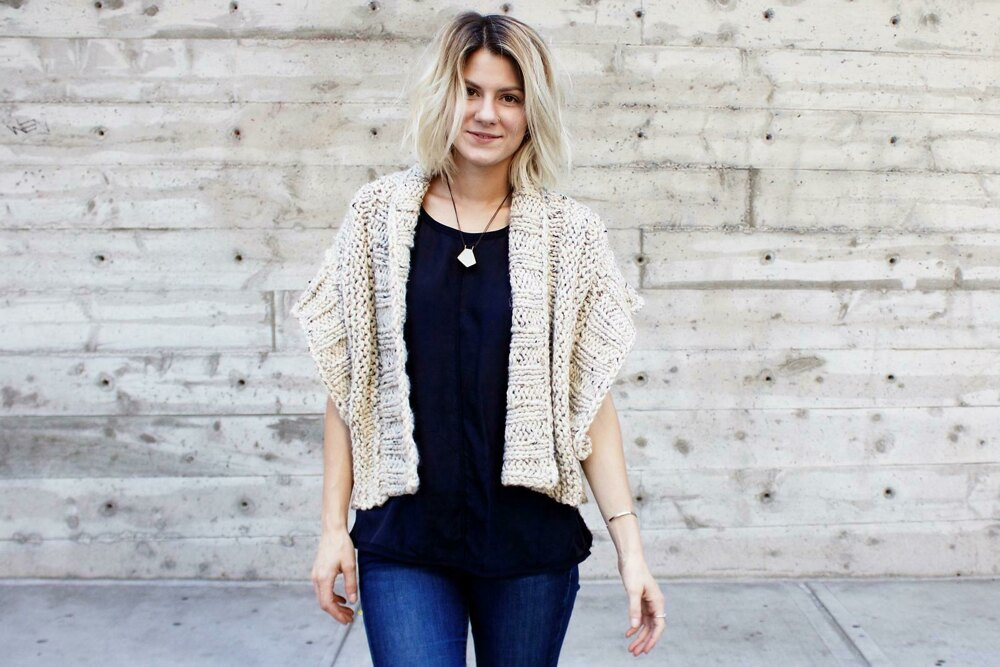 28dc2fb40 Mont Blanc Cardigan Knitting pattern by Two of Wands