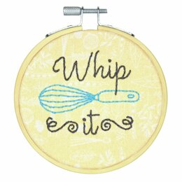 Dimensions Embroidery Kit with Hoop - Whip It (Crewel)