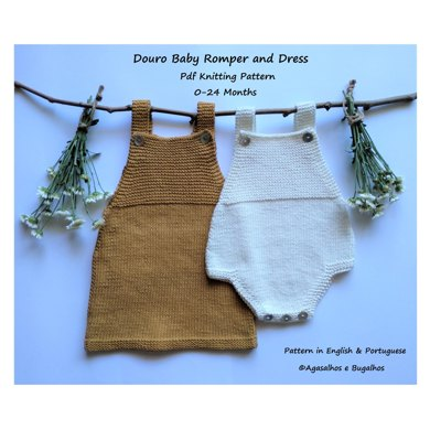 Douro Baby Romper And Dress Knitting Pattern By Agasalhos E Bugalhos