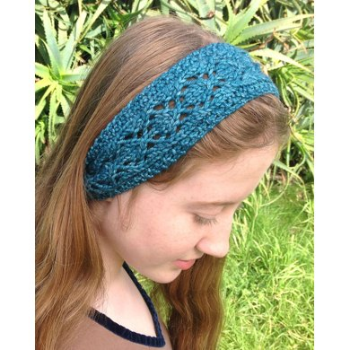 Knit Lace Headband Pattern Image Collections Knitting Patterns