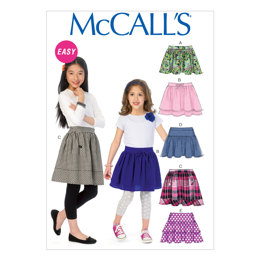 McCall's Children's/Girls' Skirts M6984 - Sewing Pattern