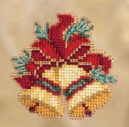 Mill Hill Christmas BellsÿOrnament Cross Stitch Kit - 2.75in x 2.5in