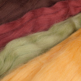 Clover Natural Wool Roving Assortment