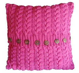 Cotton Cable Cushion