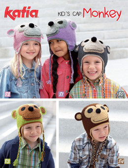 Hats in Katia Kid's Cap Monkey