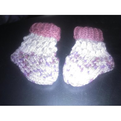 Raindrops and Roses baby socks