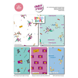 Craft Cotton Company Charlie and the Chocolate Factory Dreams Fat Quarter Bundle - Multi