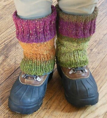 Easy Fitted Leg Warmers Knitting Pattern By Housewyfe
