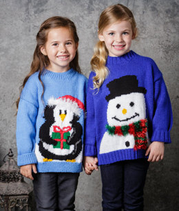 Girl's Jumpers in Stylecraft Special DK and Eskimo DK - 9309