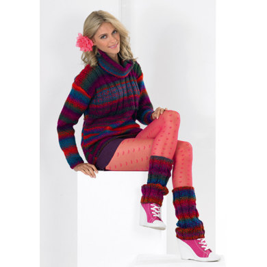 Sweater and Legwarmers in Stylecraft Harlequin Chunky - 8677