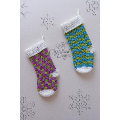 Blitzen Stocking