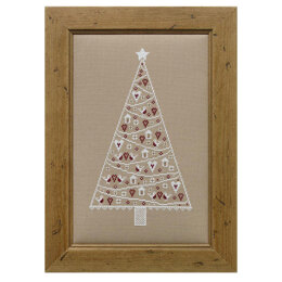 Historical Sampler Company Scandi Christmas Tree Cross Stitch Kit