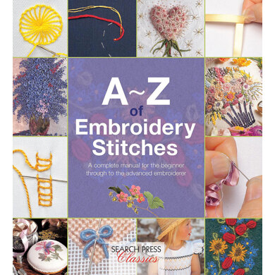 Search Press A-Z of Embroidery Stitches - 1013994 -  Leaflet