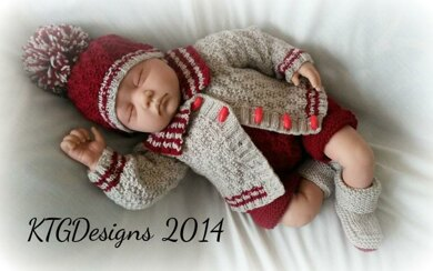 George baby boys cardigan set