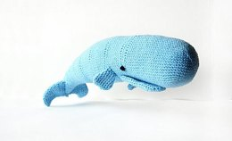 Moby Dick the Whale Crochet Pattern, Whale Amigurumi