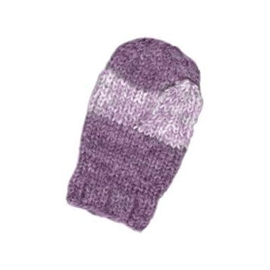 Child's Simple Striped Mittens